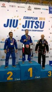 Emmanuel Fernandez Pythagore Champion d'Europe 2015 JJB IBJJF