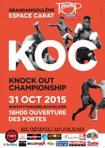Affiche KOC avec Sponsors